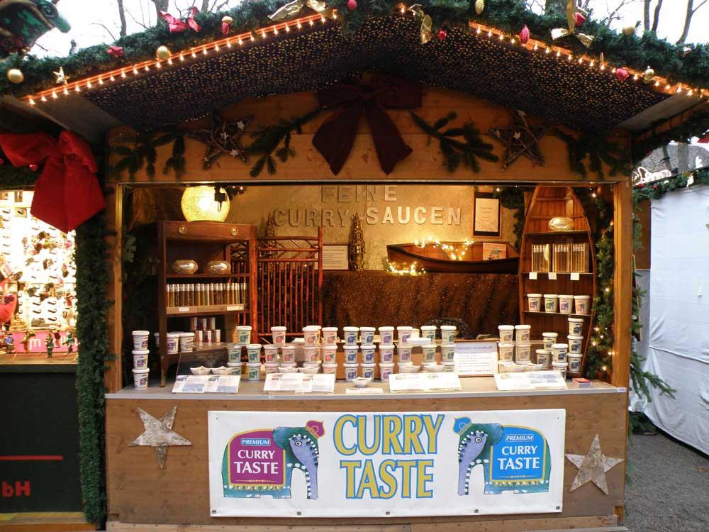 Curry Taste am Weihnachtsmarkt Basel