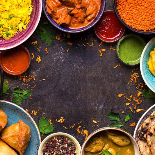 Feines Currygericht