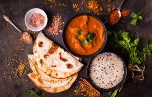 Feines Curry Gericht